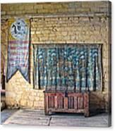 Castle Interior Canvas Print