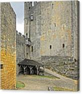 Castle Interior Ground France Canvas Print
