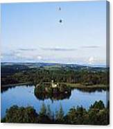 Castle Island, Lough Key Forest Park Canvas Print