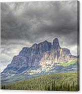 Castle Mountain 2011 Canvas Print
