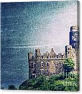 Castle Mouse Canvas Print
