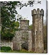 Castle Near Upper Lake Kilarney Irelnad Canvas Print