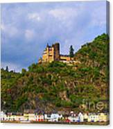 Castle On The Rhine Canvas Print