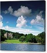 Castlewellan Castle & Lake, Co Down Canvas Print