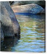 Castor River Reflections Canvas Print