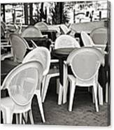 Casual Dining Canvas Print
