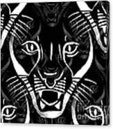 Cat Mask Canvas Print