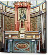 Cataldo Mission Altar - Idaho State Canvas Print