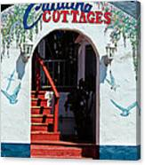 Catalina Cottages Canvas Print