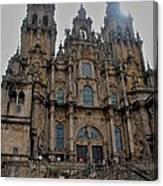 Cathedral At Santiago De Compostela Canvas Print