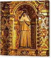 Cathedral De La Almudena Canvas Print