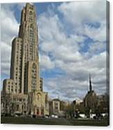 Cathedral Of Learning Pittsburgh Canvas Print