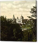 Catholic Church In Kiev - Ukraine - Ca 1900 Canvas Print