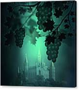 Catle And Grapes Canvas Print