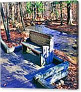 Catoctin Bench Canvas Print