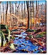 Catoctin Woods Canvas Print