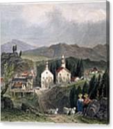 Catskill Village, 1839 Canvas Print
