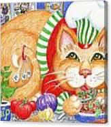Catzi Cacciatore Canvas Print