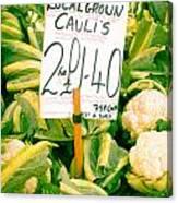 Cauliflower Canvas Print