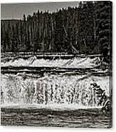 Cave Falls Canvas Print