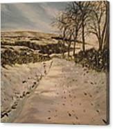 Cavehill Winter Walk Canvas Print