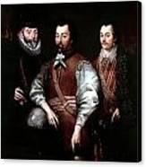 Cavendish Drake And Hawkins Canvas Print