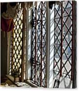 Cecilenhof Palace Window Canvas Print