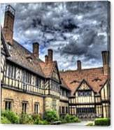 Cecilienhof Palace At Neuer Garten Berlin Canvas Print