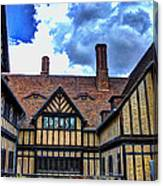Cecilienhof Palace At Neuer Garten Canvas Print