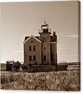 Cedar Island Lighthouse Canvas Print