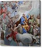 Ceiling Fresco - Karls Church Canvas Print
