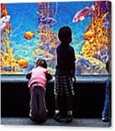 Celebrating Life Under The Sea  Canvas Print