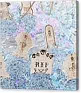 Cemetery Invert Canvas Print