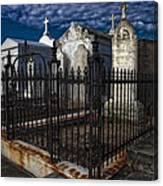 Cemetery Landscape Canvas Print