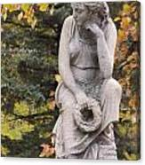 Cemetery Statue 1 Canvas Print