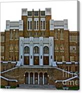 Central High School - No. 2040 Canvas Print