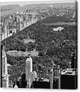 Central Park Bw6 Canvas Print