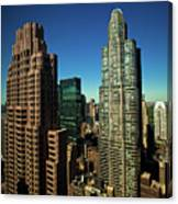 Central Park South From Above Canvas Print