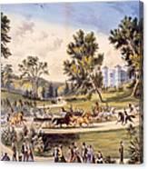 Central Park, The Grand Drive Canvas Print