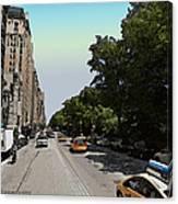 Central Park West Canvas Print