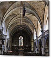 Centuries Old Church Canvas Print