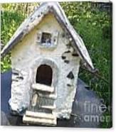 Ceramic Birdhouse Canvas Print