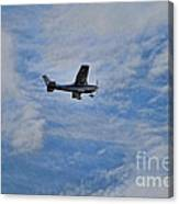 Cessna In Flight Canvas Print