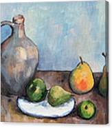 Cezanne's Jug Canvas Print