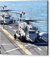 Ch-53e Super Stallion Helicopters Canvas Print