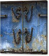 Chains And Hooks Canvas Print