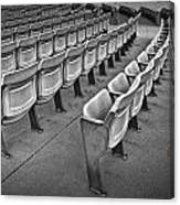 Chair Seating In An Arena With Oak Leaf Canvas Print