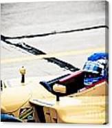 Champ Car Driver Canvas Print