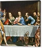 Champaigne: Last Supper Canvas Print