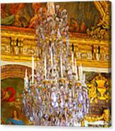 Chandelier At Versailles Canvas Print